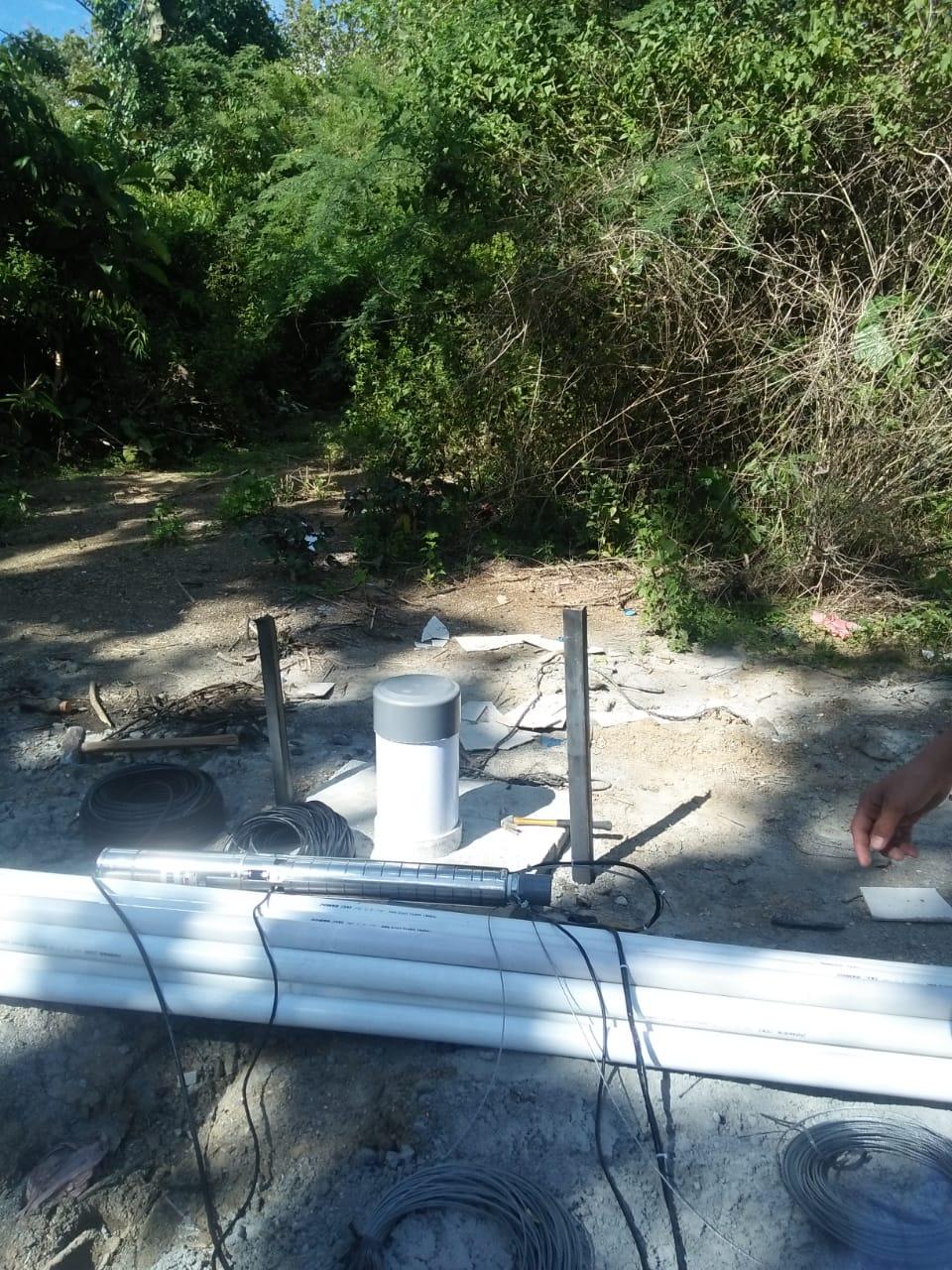Pemasangan Pompa Air Tenaga Surya (PATS) di Donggala