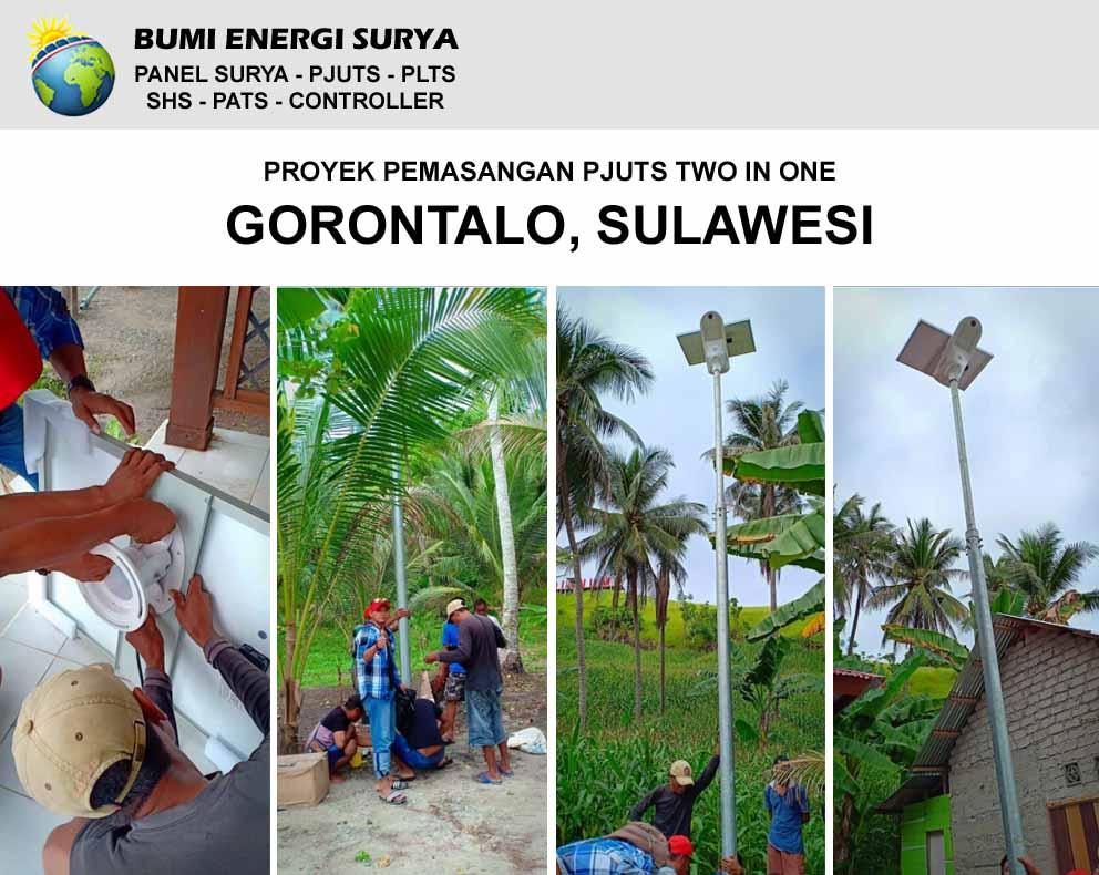 pemasangan pjuts gorontalo sulawesi