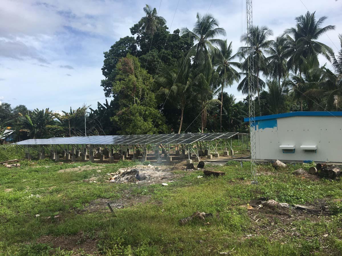 Pembangkit Listrik Tenaga Surya - PLTS - Maluku Utara