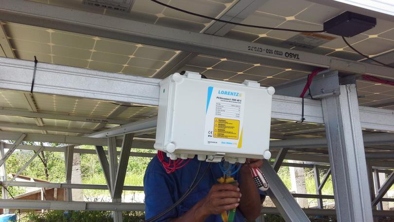 Pemasangan Pompa Air Tenaga Surya (PATS) di Sidangoli, Maluku Utara