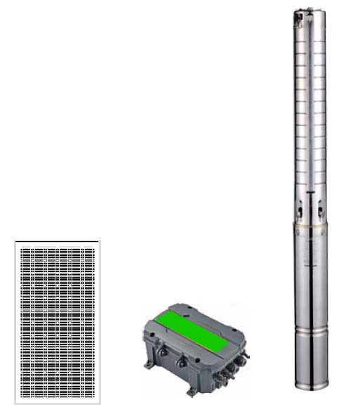 Pompa Air Tenaga Surya PSS Stainless Steel