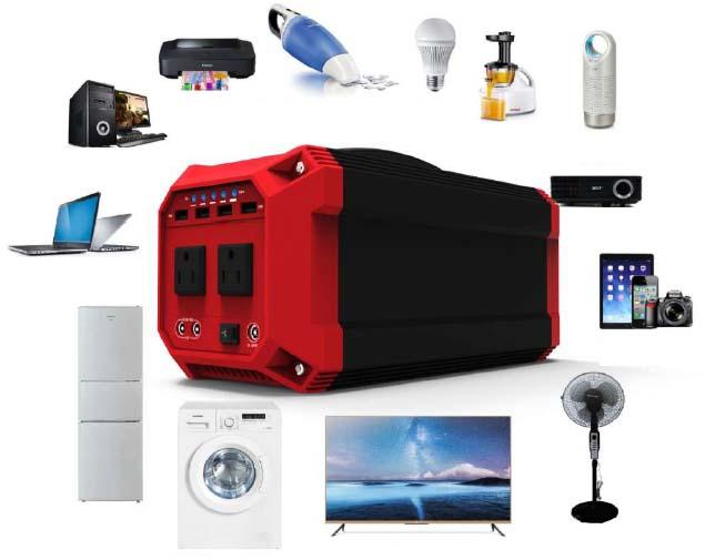 Generator Portabel untuk mengisi semua peralatan elektronik di rumah