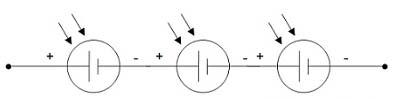 Rangkaian Paralel Sel Surya (Solar Cell) - Meningkatkan Tegangan (Voltage)