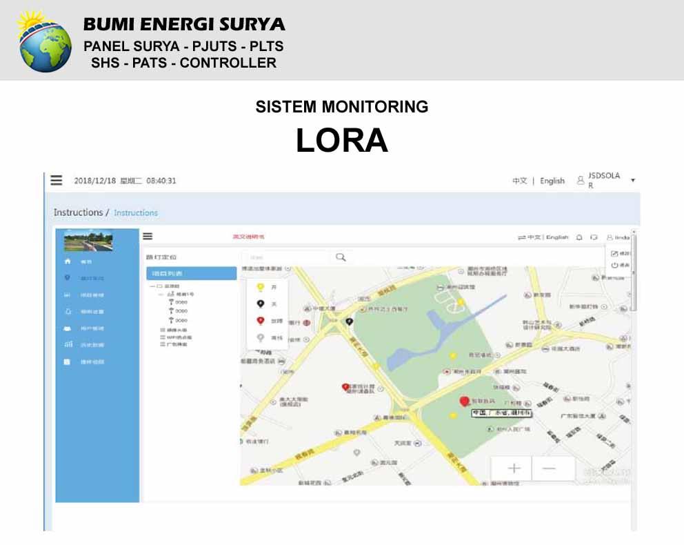 sistem monitoring lora