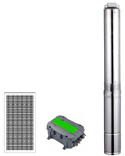 Pompa Air Tenaga Surya CPS 4LSC Series Plastic Impeller
