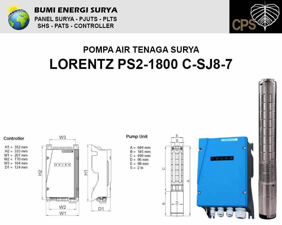 lorentz ps2-1800 c-sj8-7