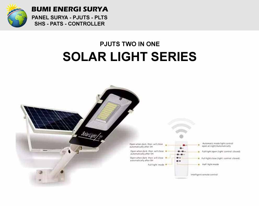 pjuts two in one solar light series