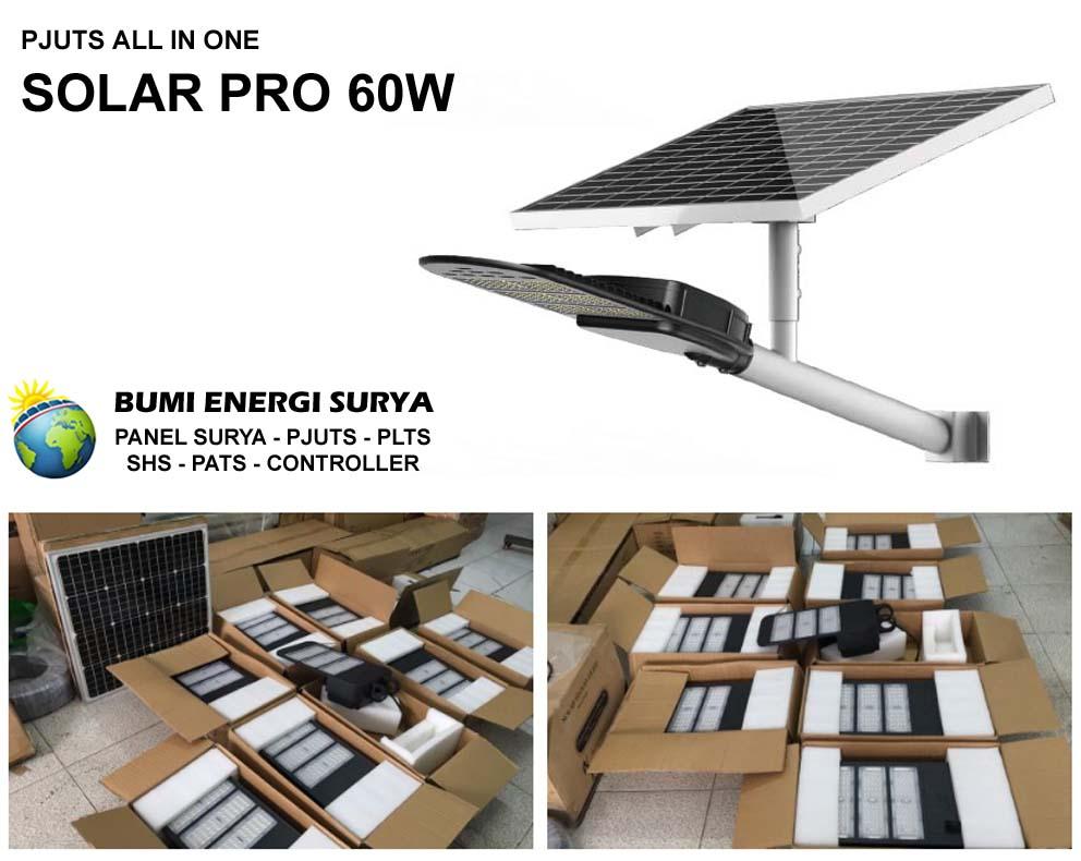 PJUTS All In One Solar Pro 60W