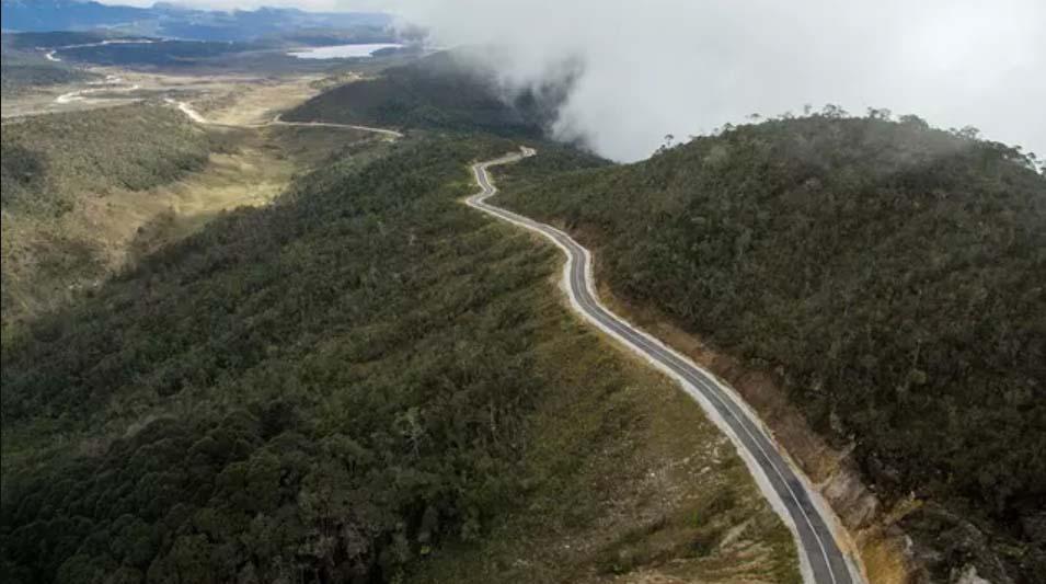 Jalan Trans Papua ruas Wamena-Habema