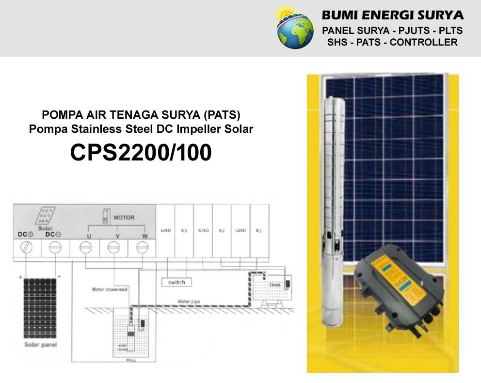 Pompa Air Tenaga Surya (PATS) CPS2200/100
