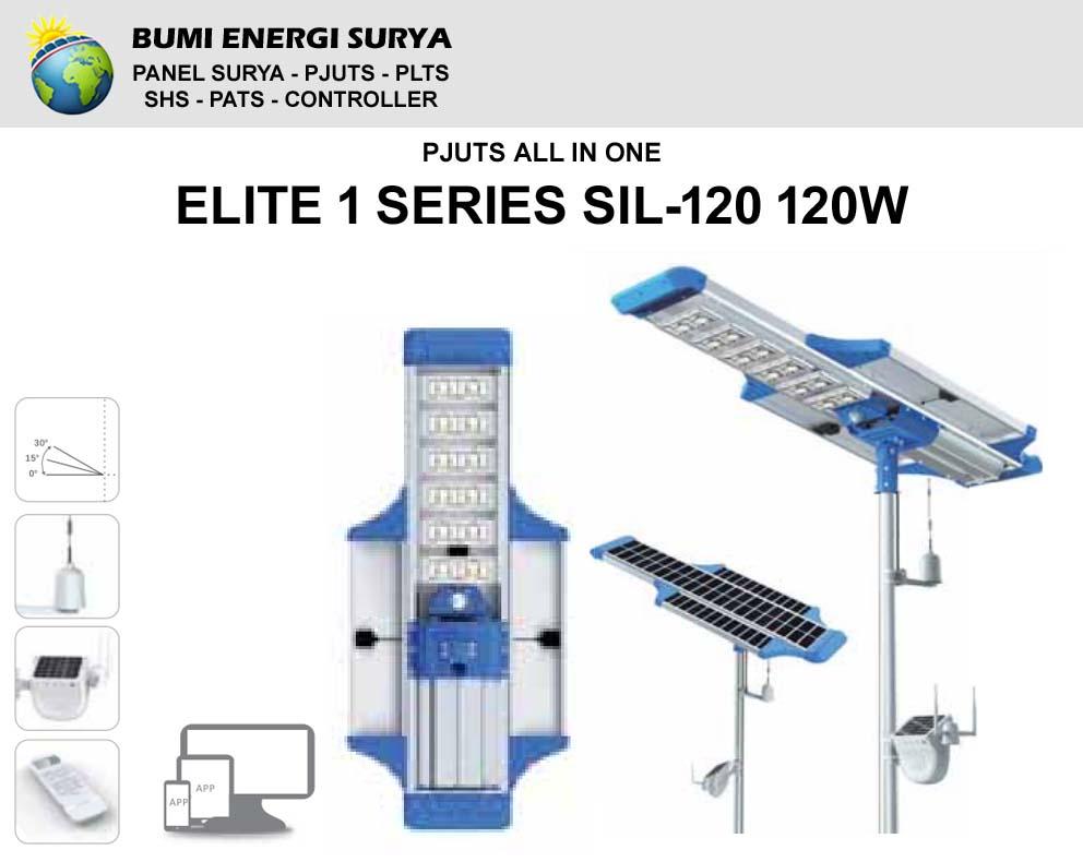 Lampu Jalan LED 120w Elite 1 Series SIL-120