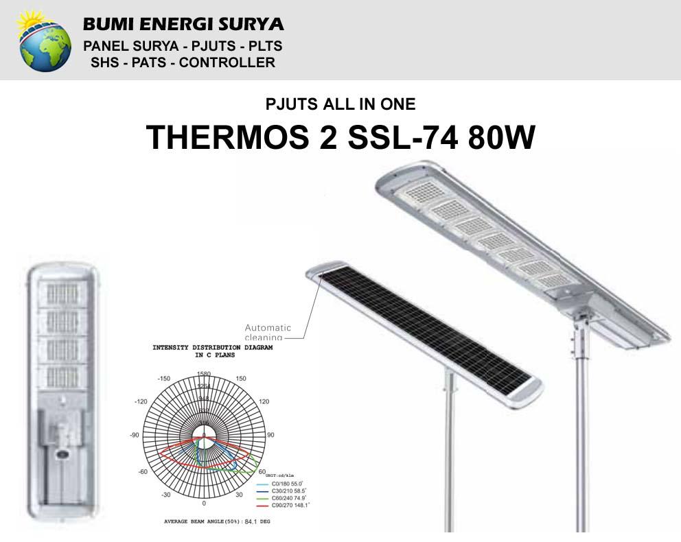 Lampu Tenaga Surya All In One Thermos 2 SSL-74 80W