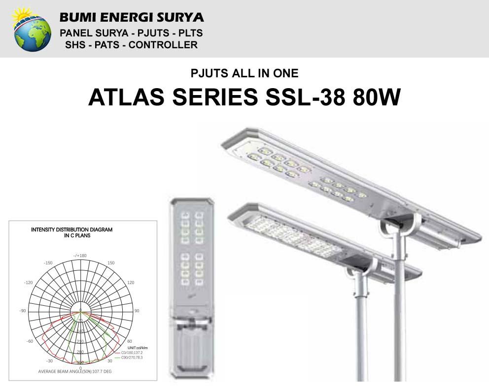 PJUTS Atlas Series SSL-38 80W