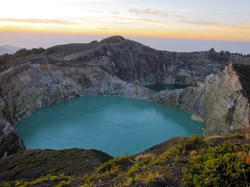 Danau Kelimutu Nusa Tenggara Timur