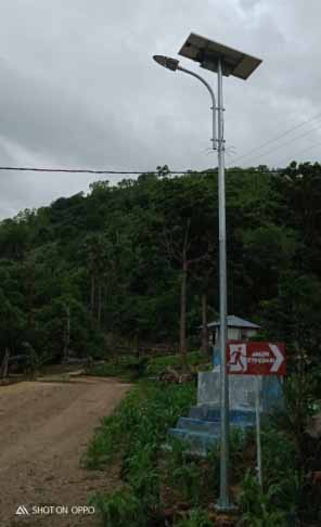 Lampu PJUTS di Lembata NTT