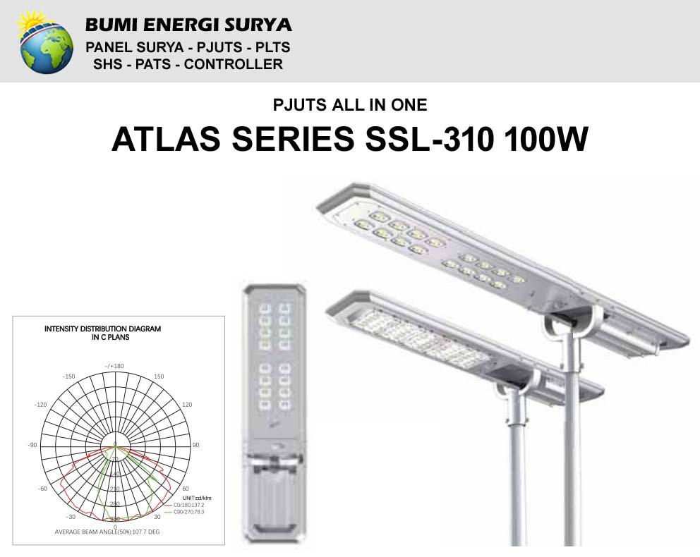 PJUTS AIO Atlas Series SSL-310 100W