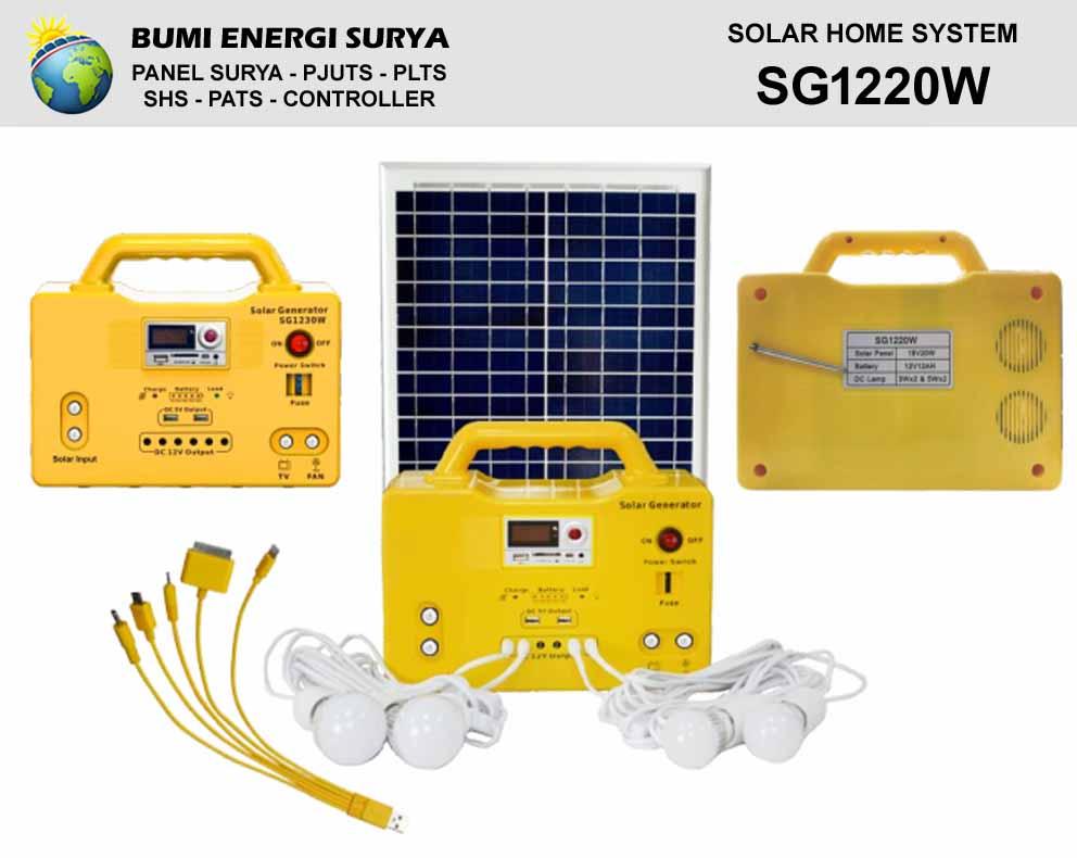 generator panel surya sg1220w
