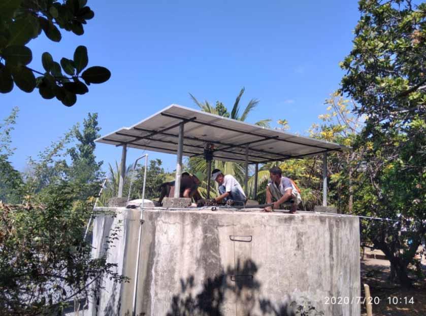 pompa air tenaga surya lewoleba