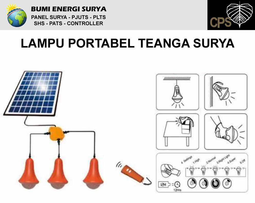 lampu portabel tenaga surya