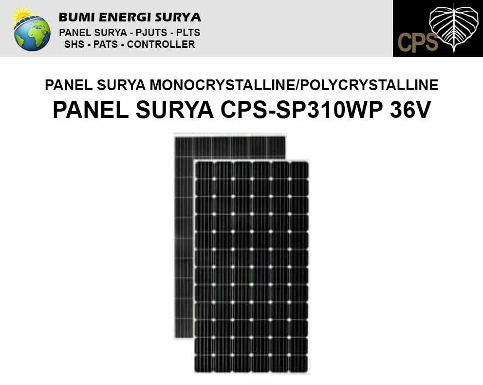 panel surya 310wp monocrystalline polycrystalline
