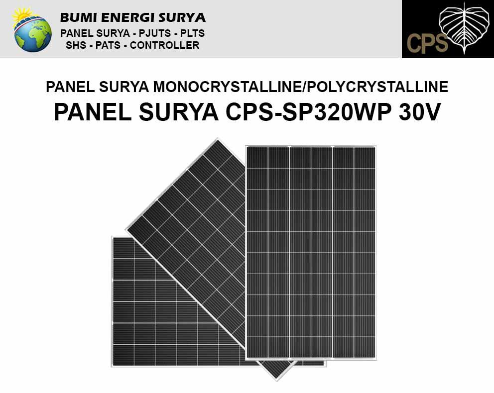 panel surya monocrystalline polycrystalline 320 wp