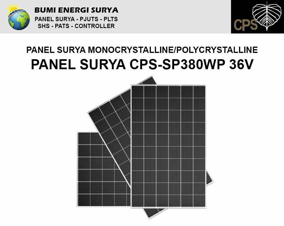 panel surya 380 wp monocrystalline polycrystalline