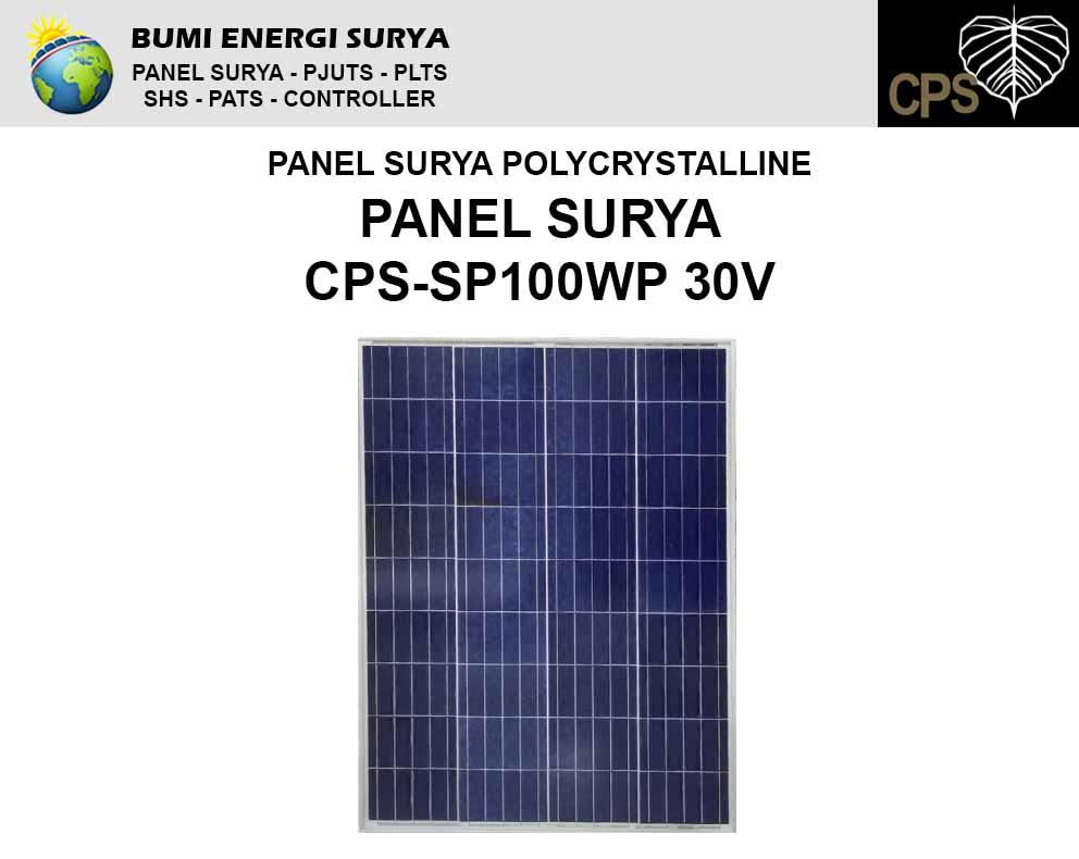 modul panel sruya 100wp polycrystalline