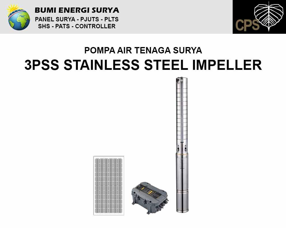 pompa air teanga surya 3pss series stainless steel impeller