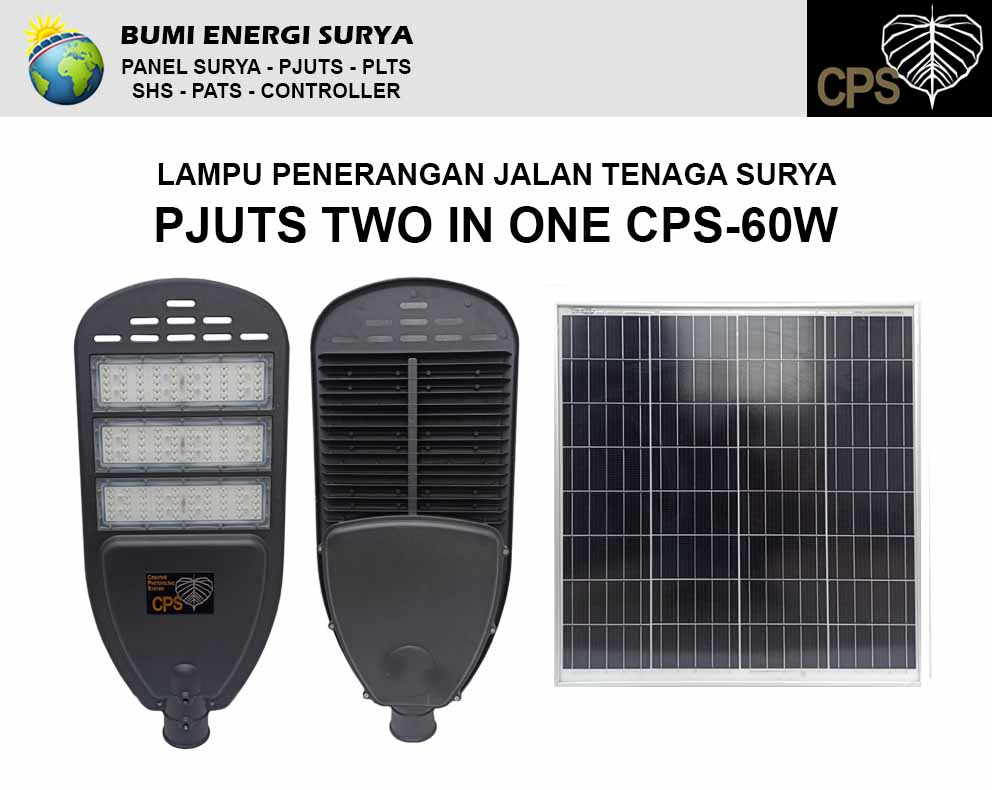 lampu pjuts tow in one cps-60w
