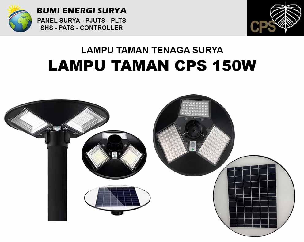 lampu taman tenaga surya 150w