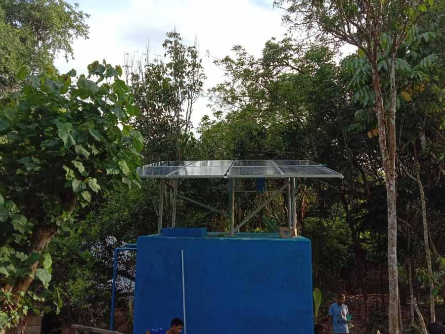 panel surya untuk pompa air tenaga surya submersible lorentz