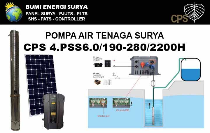 pompa air tenaga surya cps 2200w