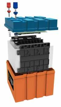 Baterai panel surya LiFePO4 12V 70AH
