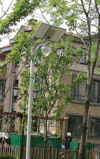 lampu taman tenaga surya 15w