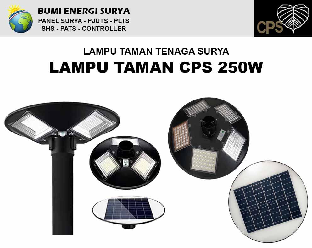 lampu taman tenaga surya 250w