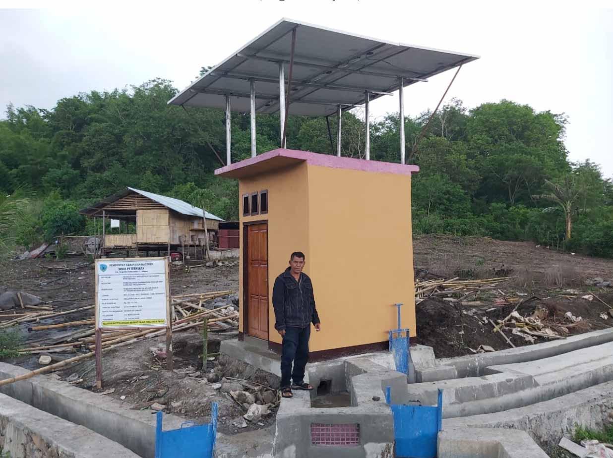 pompa air tenaga surya di nagakeo, nusa tenggara timur