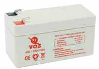 Baterai LiFePO4 VRLA 12v VA12-1.2 12V 1.2AH VOZ