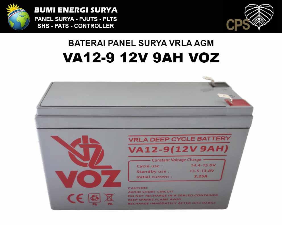Baterai VRLA AGM 9AH 12V
