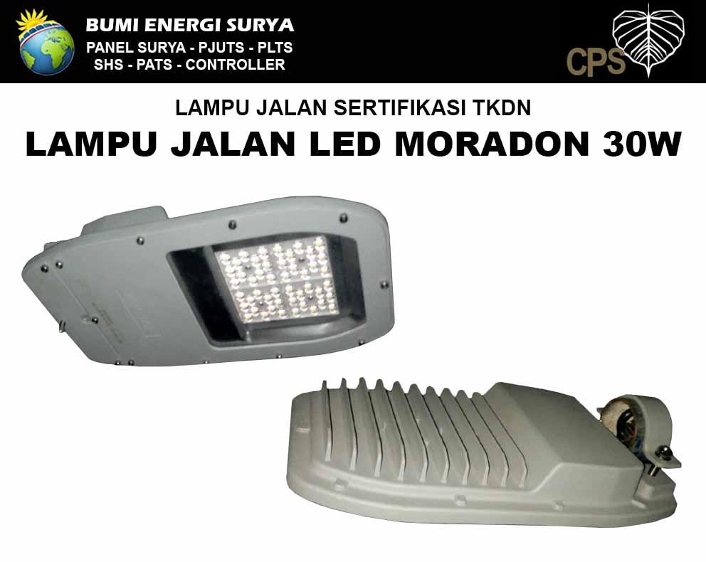 lampu jalan sni tkdn 30w led moradon seri-e (new)