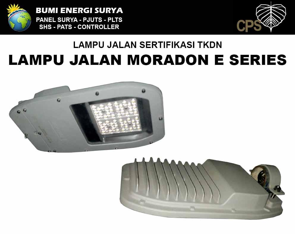 lampu jalan sni tkdn led moradon e-series