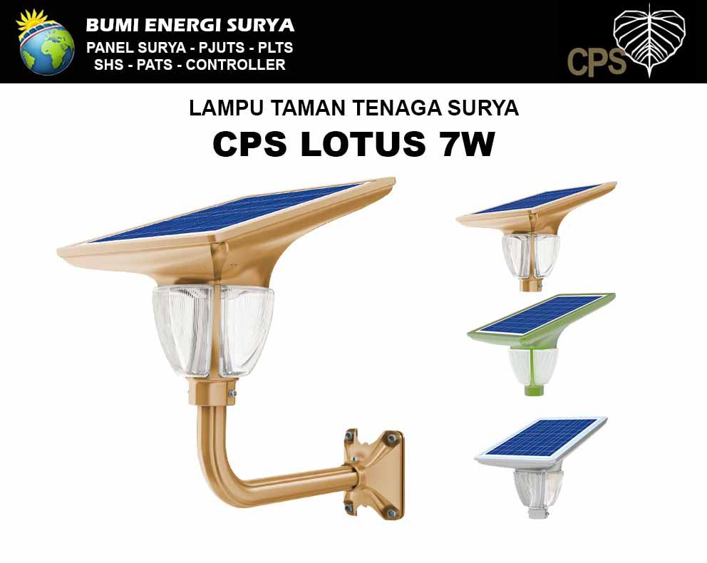 lampu taman tenaga surya 7w