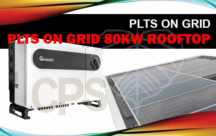 plts on-grid 80Kw rooftop