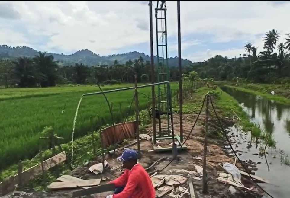 pompa tenaga surya kabupaten buol sulawesi tengah