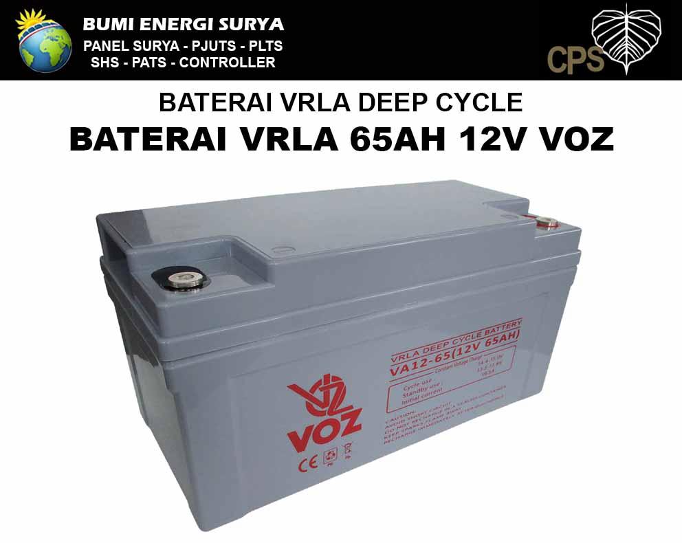 baterai vrla agm deep cycle 65ah voz