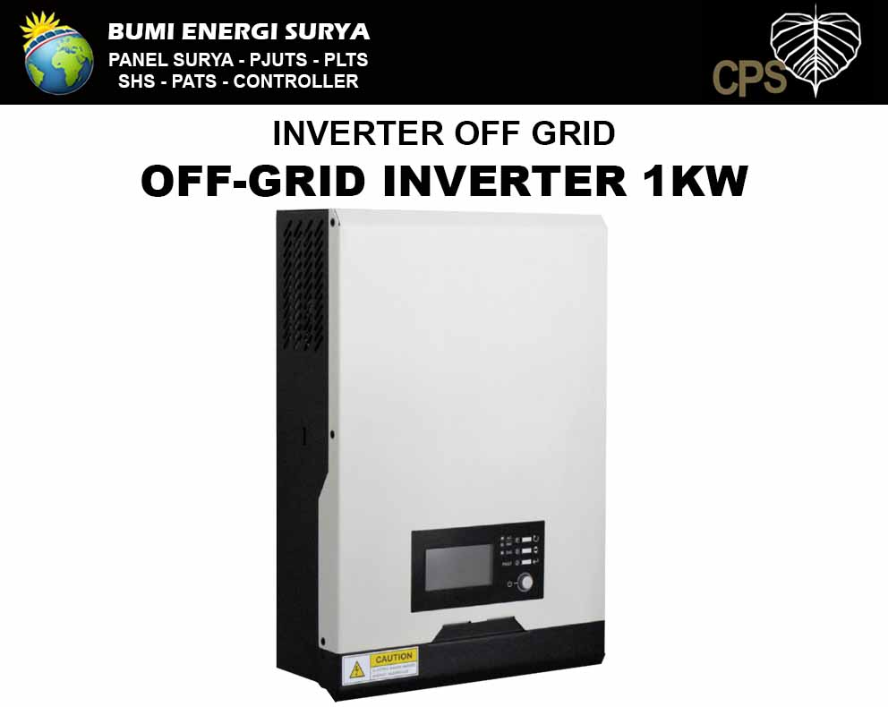 inverter offgrid 1 kw panel surya dan plts