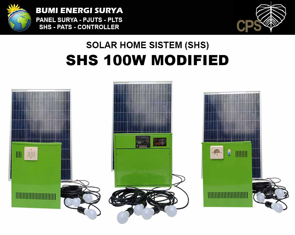 solar home system 100w modified