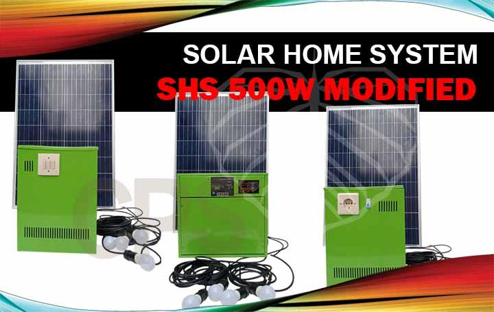 genset tenaga surya 500w - shs 500w modified