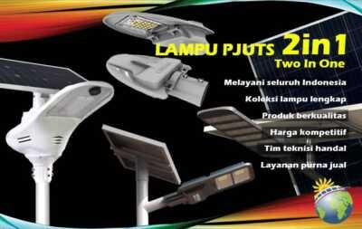 lampu pjuts two in one