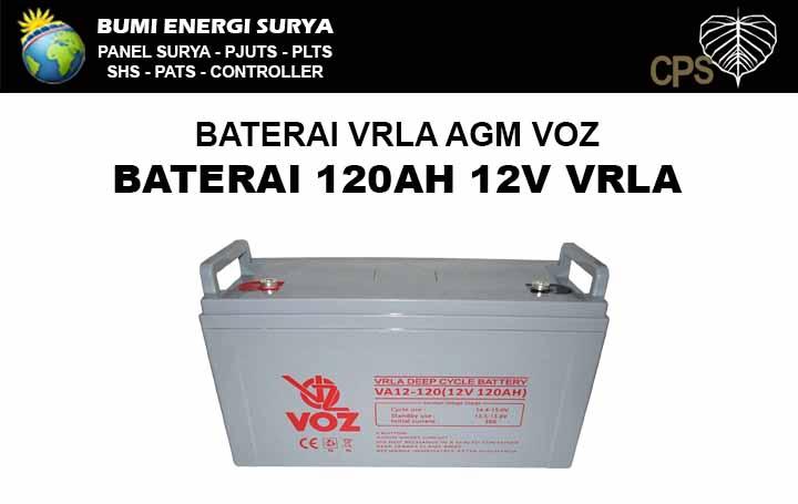 Baterai AGM VRLA 120AH 12V VOZ
