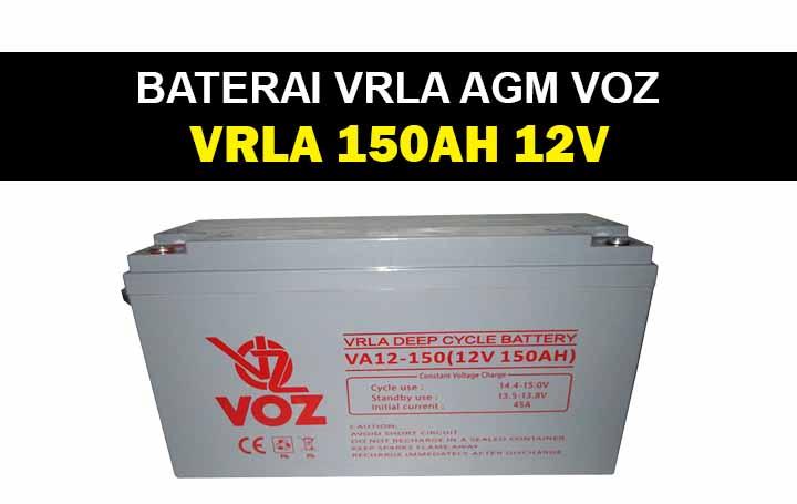 baterai vrla deep cycle 150ah 12v voz